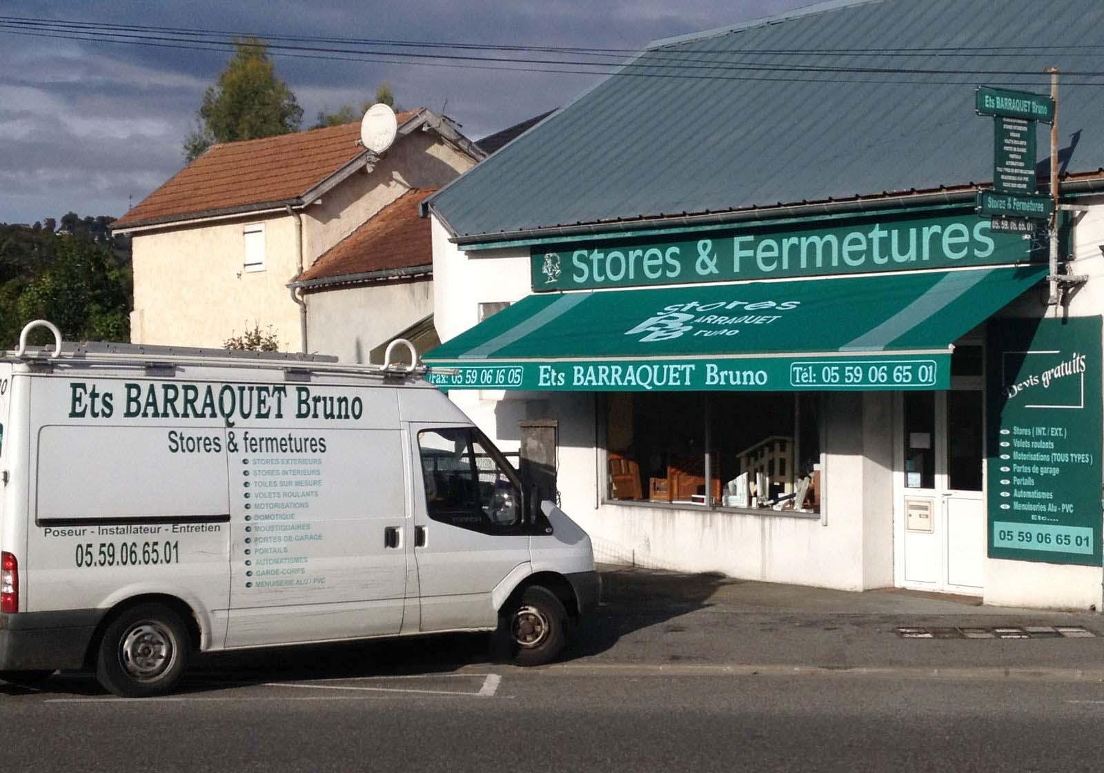 Stores Barraquet Bruno à Pau (Jurançon)